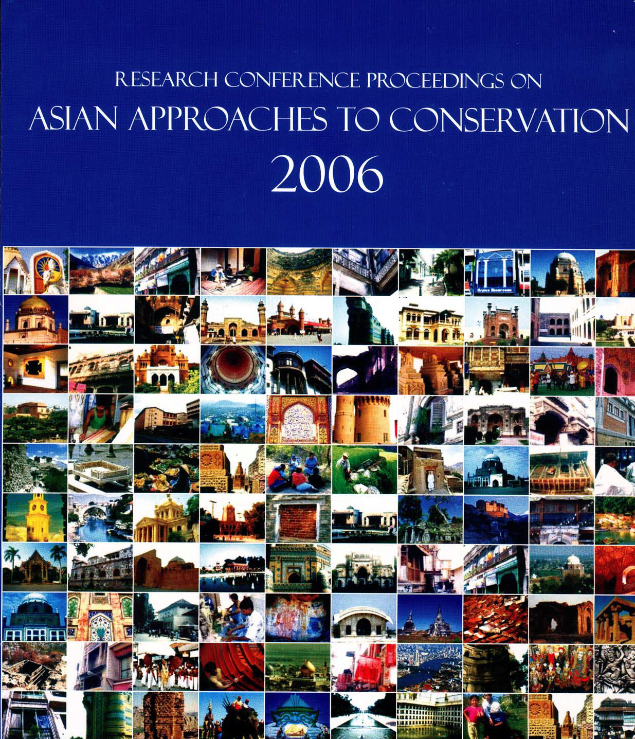 Research Conference Proceedings on Asian Approaches to Conservation