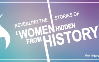 Revealing the stories of 'Women hidden from history' #wiki4women