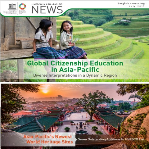 UNESCO in Asia-Pacific News, July 2017