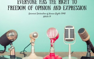 Everyone has the right to freedom of opinion and expression