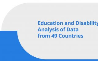 education and disability analysis of 49 countries
