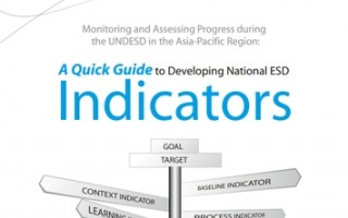 Quick Guide for the Development of National ESD Indicators