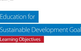 Education for Sustainable Development Goals - Learning Objectives