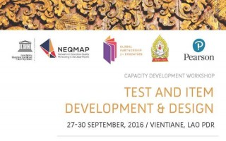 Workshop: Test and Item Development and Design in Lao PDR