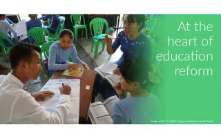 Myanmar education reforms start with training new generation of student teachers