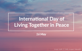 International Day of Living Together in Peace: SHARE YOUR QUOTES ON PEACE!