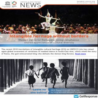 NEWS - UNESCO in Asia-Pacific, December 2018