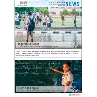 UNESCO Bangkok News, November 2020