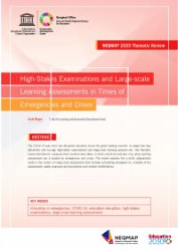 High-stakes examinations and large-scale learning assessments in times of emergencies and crises: NEQMAP 2020 thematic review
