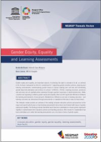 Gender Equity, Equality and Learning Assessments (NEQMAP Thermatic Review)