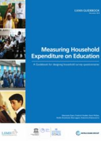 cover of Measuring Household Expenditure on Education: A Guidebook