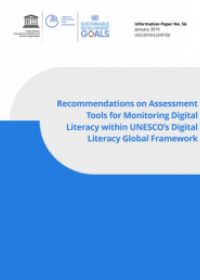 cover for the document on monitoring digital literacy