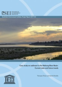 Case Study on Sediment in the Mekong River Basin: Current State and Future Trends
