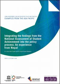 Using assessment data in education policy and practice: examples from the Asia Pacific, 2