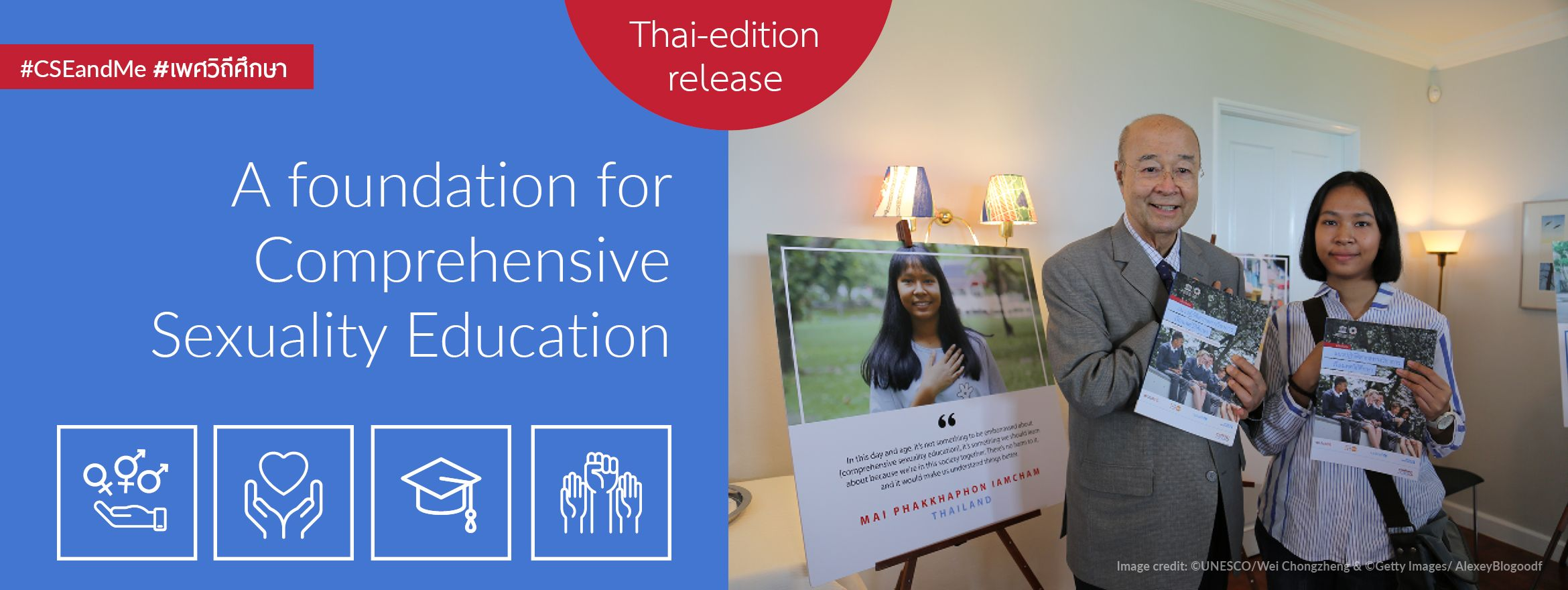 Let's talk about sex: Thai-language sexuality education guidance launched