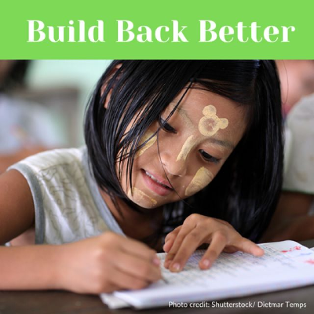 Building back better: National Response and Recovery Plan for reopening Myanmar's schools