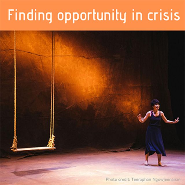 Finding opportunity in crisis