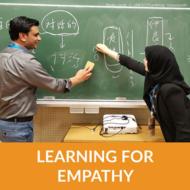 Learning for empathy: Multinational effort to build peace through education