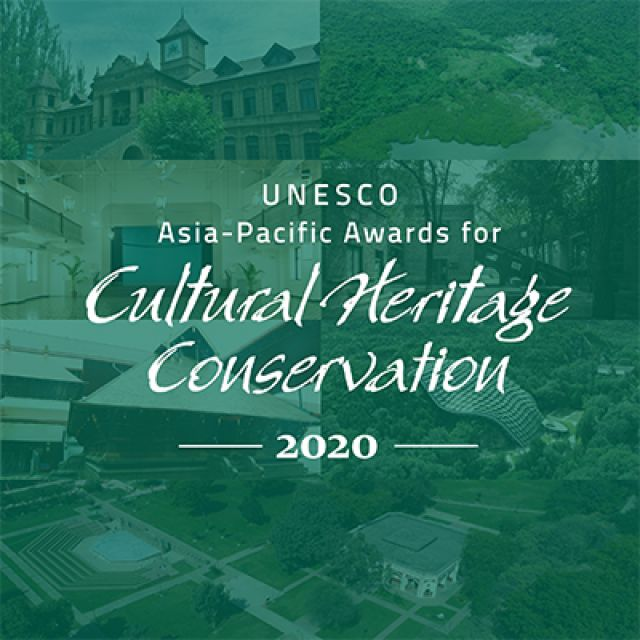 2020 UNESCO Asia-Pacific Awards for Cultural Heritage Conservation - Winners announced