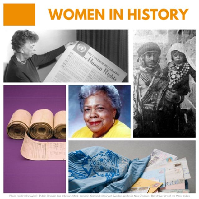Women in History – Telling HERstory through Memory of the World