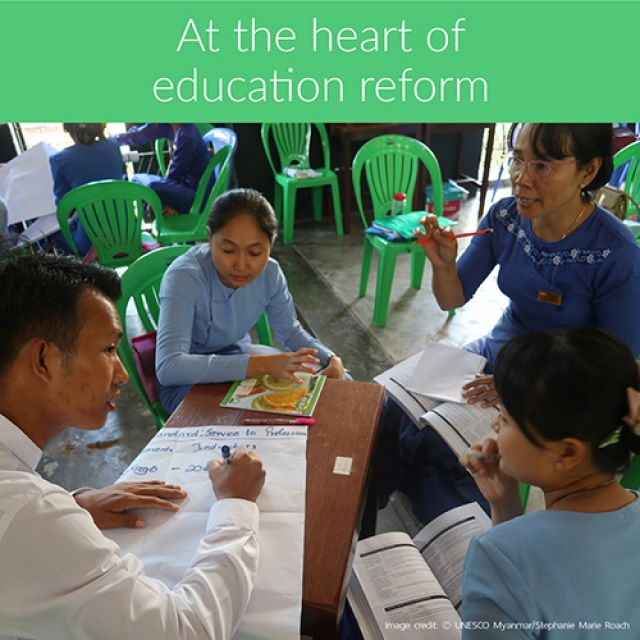 Myanmar reforms start with training new generation of student teachers