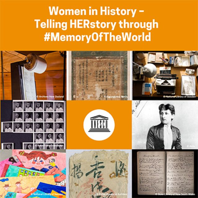 'Women in History' online exhibition pays tribute to women's achievements on International Women's Day 2021