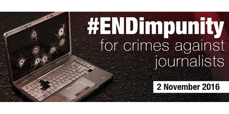 International Day to End Impunity for Crimes against Journalists
