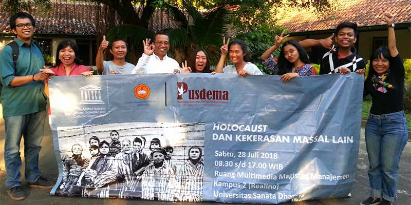 """We hope to help Indonesian teachers to better inform their students about the Holocaust and genocide"""