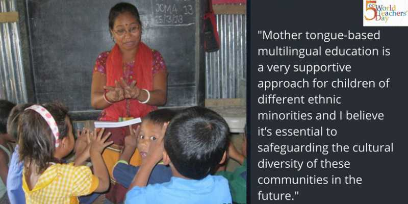Mother tongue teachers tell their stories